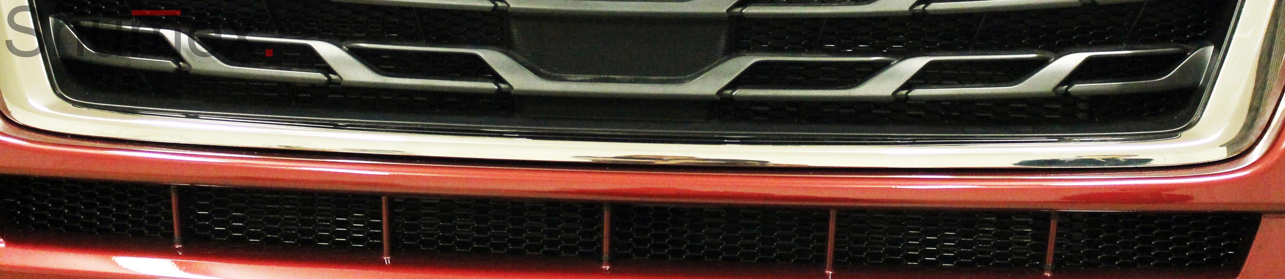 Установка сетки в бампер Subaru Forester